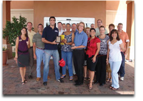 Cape Coral Chamber of Commerce ribbon cutting